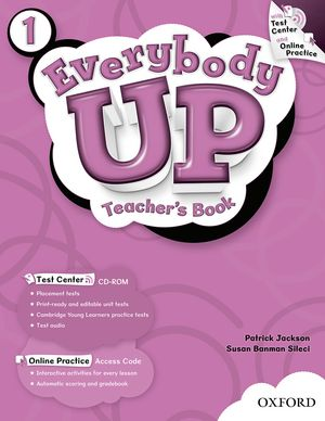 Everybody Up Level 1 | Teacher's Book with Test Center CD-ROM