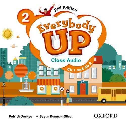 Everybody Up 2 (2nd Ed) | Class Audio CDs (2)