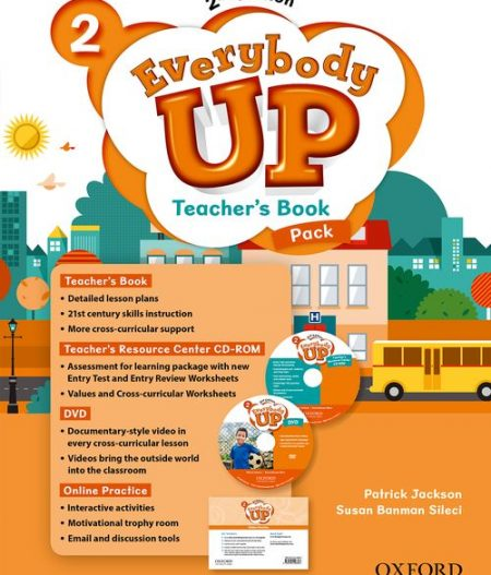 Everybody Up 2 (2nd Ed) | Teacher's Book Pack with DVD