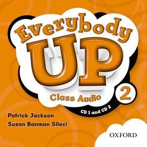 Everybody Up Level 2 | Class Audio CDs (2)