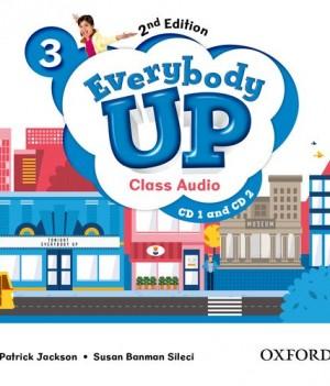 Everybody Up 3 (2nd Ed) | Class Audio CDs (2)