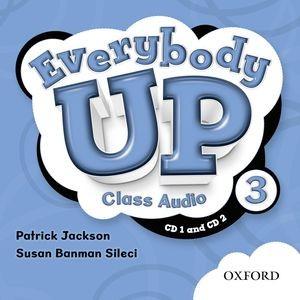 Everybody Up Level 3 | Class Audio CDs (2)