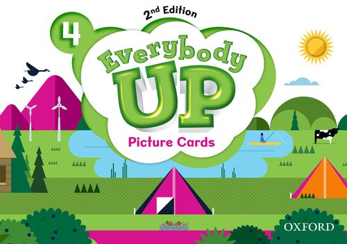 Everybody Up 4 (2nd Ed) | Picture Cards
