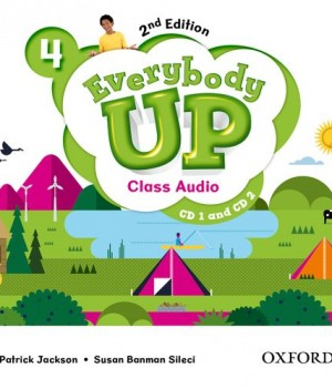 Everybody Up 4 (2nd Ed) | Class Audio CDs (2)