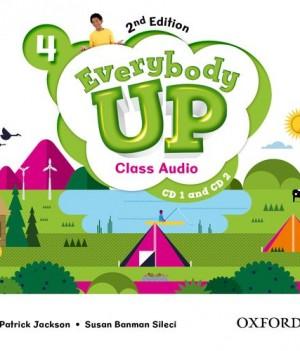 Everybody Up 4 (2nd Ed) | Class Audio CDs (2)