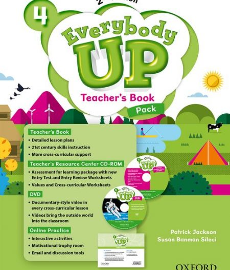 Everybody Up 4 (2nd Ed) | Teacher's Book Pack with DVD