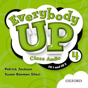 Everybody Up Level 4 | Class Audio CDs (2)