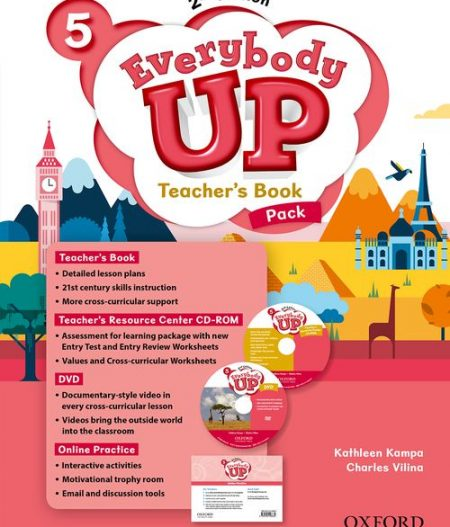 Everybody Up 5 (2nd Ed) | Teacher's Book Pack with DVD