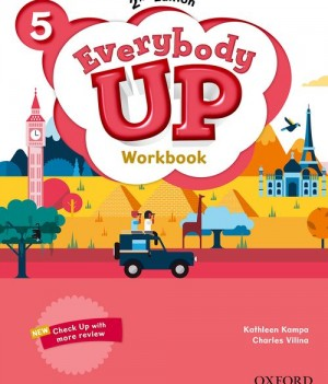 Everybody Up 5 (2nd Ed) | Workbook with Online Practice