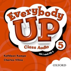 Everybody Up Level 5 | Class Audio CDs (2)