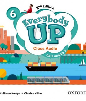 Everybody Up 6 (2nd Ed) | Class Audio CDs (2)