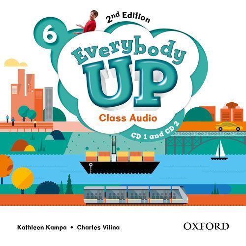 Everybody Up 6 (2nd Ed) | Class Audio CDs (2)