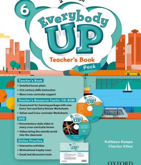 Everybody Up 6 (2nd Ed) | Teacher's Book Pack with DVD