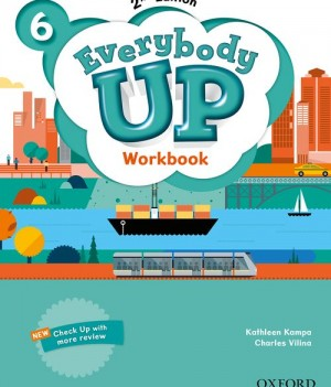Everybody Up 6 (2nd Ed) | Workbook with Online Practice