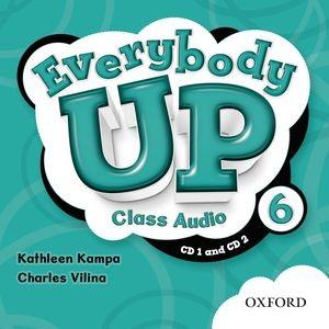 Everybody Up Level 6 | Class Audio CDs (2)