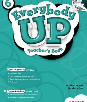 Everybody Up Level 6 | Teacher's Book with Test Center CD-ROM