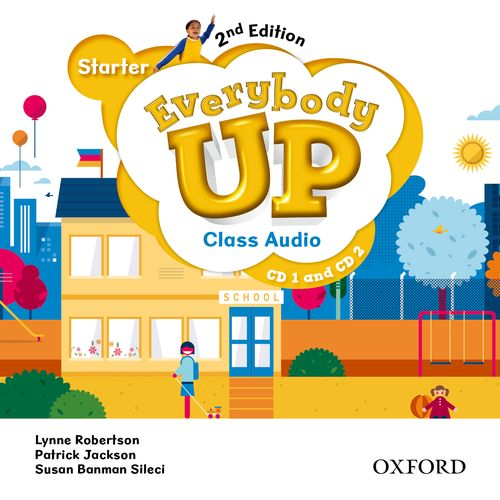 Everybody Up Starter (2nd Ed) | Class Audio CDs (2)