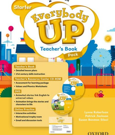 Everybody Up Starter (2nd Ed) | Teacher's Book Pack with DVD