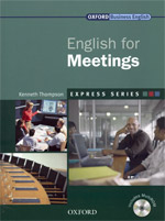 Express Series: English for Meetings | Student Book with Multi-ROM