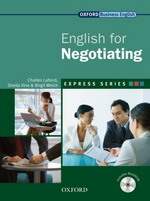Express Series: English for Negotiating | Student Book with Multi-ROM
