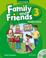American Family and Friends 3 | Student Book with CD