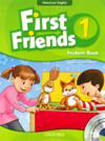 First Friends: American Edition Level 1 | Student Book/Workbook A with Audio CD Pack
