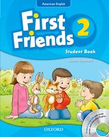 First Friends: American Edition: Level 2 | Student Book/Workbook A with Audio CD Pack