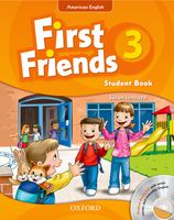 First Friends: American Edition Level 3 | Student Book/Workbook A with Audio CD Pack