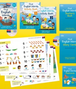 Collins First English Words | Activity Pack