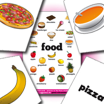 IPI Flash Cards | Food