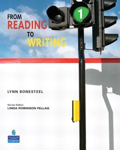 From Reading to Writing 1   Student Book without ProofWriter