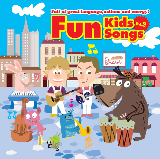 Fun Kids Songs Vol. 2 | CD
