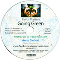 Going Green | CD