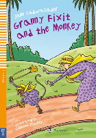Young ELI Readers 1: Granny Fixit and the Monkey | Book with Audio