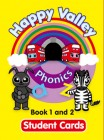 Happy Valley Phonics Student Cards 1 and 2 | Cards