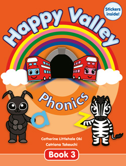 Happy Valley Phonics Book 3 | Book