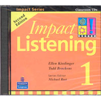 Impact Listening 1   Class CDs (2)