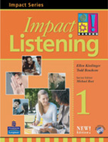 Impact Listening 1 | Student Book with Audio CD