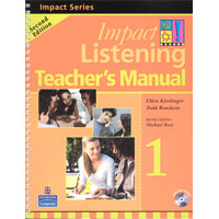 Impact Listening 1 | Teacher's Manual with Test CD-ROM