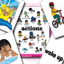 IPI Flash Cards | Actions