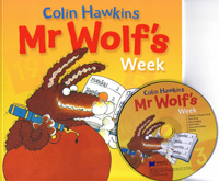 Mr Wolf's Week | PB+CD