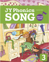 JY Phonics Songs 3 | Student Book with CD + DVD