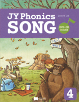 JY Phonics Songs 4 | Student Book with CD + DVD