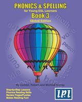 Phonics & Spelling Book 3 | Student Book