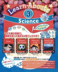 Science Reading Level 3 | Pack (4 books + CD)