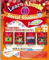 Social Studies Reading Level 1 | Pack (4 books + CD)