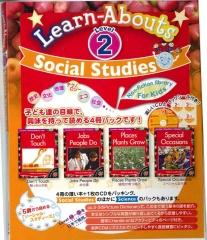 Social Studies Reading Level 2 | Pack (4 books + CD)