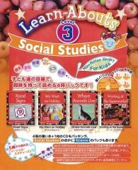 Social Studies Reading Level 3 | Pack (4 books + CD)