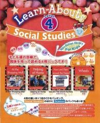 Social Studies Reading Level 4 | Pack (4 books + CD)