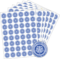 Learning World Blue | Stickers
